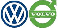 Volkswagon (VW) & Volvo